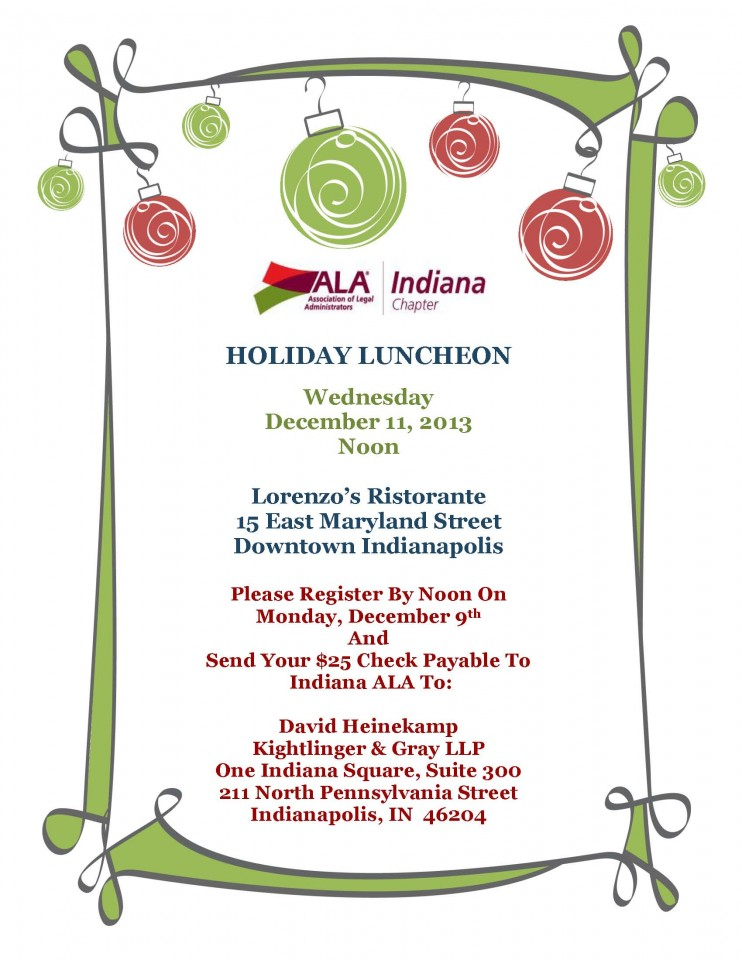 Holiday Luncheon Invitation Templates Christmas Dinner Luncheon – Holiday Flyer Template Example
